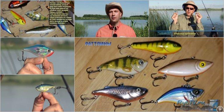 на рыбалку с раттлином. видео