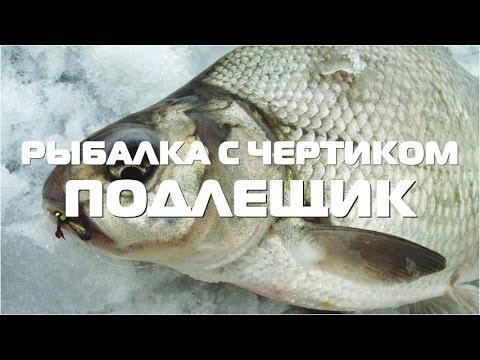Ловля подлещика зимой. Зимняя рыбалка с Е. Середой.